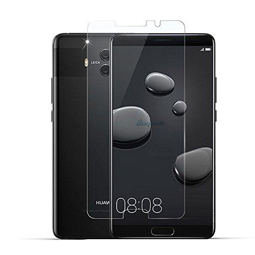 ロマンスジャニスクックGosento Huawei Mate 10 フィルム 2.5Dラウンドエッジ加工 旭硝子製 高透過率 強化ガラスフィルム 硬度9H Huawei Mate10 対応 (2枚)