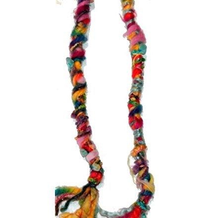 ainbow Colors Hippie Hair Wraps Hair Extensions for Dreads, Braids, Curls ()