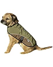 Petface Outdoor Paws Dog Coat, Olive
