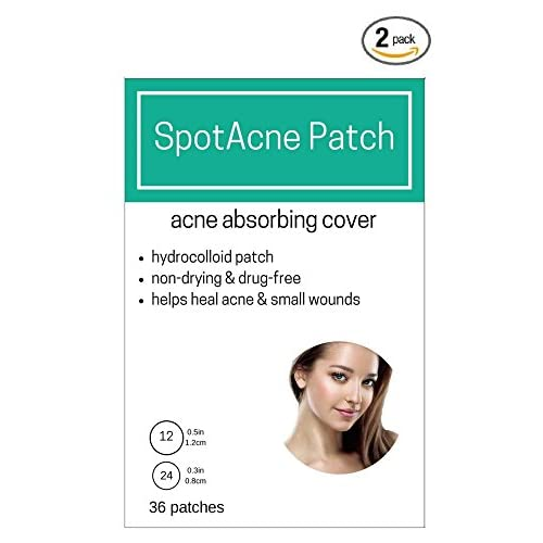2 BOXES (72 total patches) - SpotAcne Pimple Patch - Acne Cover gIumSnhX