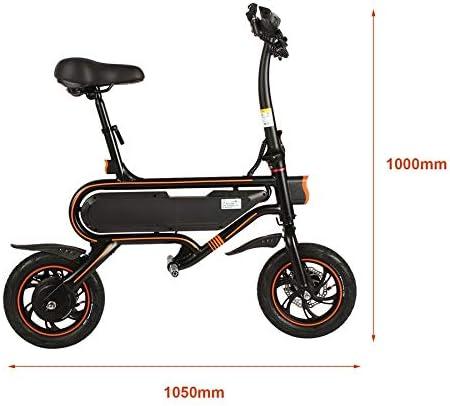 Holarose Bicicleta Plegable eléctrica Inteligente de 12 Pulgadas ...