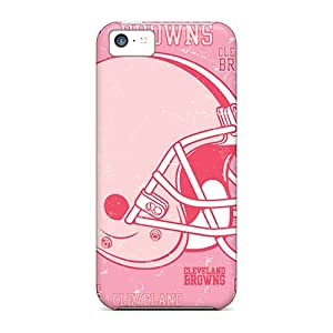 Forever Collectibles Cleveland Browns Hard Snap-on Iphone 5c Cases
