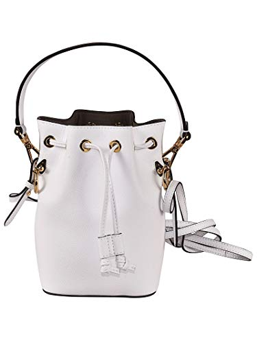 Fendi Women's 8Bs010a18bf11cb White Leather Shoulder Bag