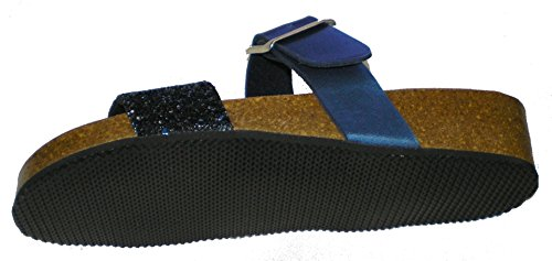 Dr.Brinkmann 701036-5 mujer clogs & mules Azul