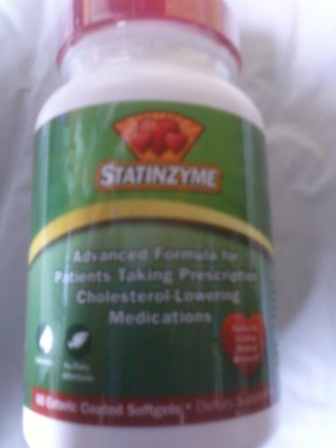 Statinzyme 60sg Pack of 3 by Prescription Vitamins LLC
