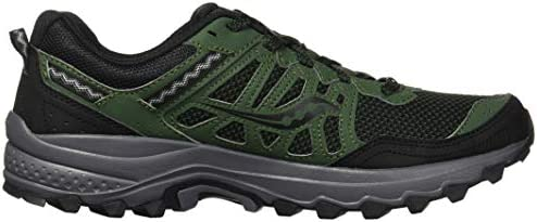 41W12Owv%2BhL. AC Saucony Men's Excursion TR12 Sneaker    Rugged, durable, and good looking – the mesh upper with supportive overlays locks your foot into place, while the trail-tested outsole with triangular lug pattern will keep you from slipping ImportedRubber soleShaft measures approximately low-top from archGRID CushioningDurable rubber outsoleTrail Specific Mesh
