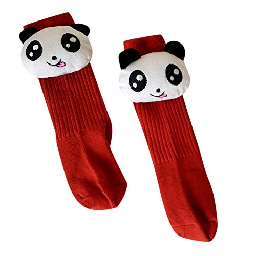 Price comparison product image SMALLE Clearance, Kids Toddler Baby Girls Boys 3D Cartoon Panda Animal Anti-Slip Socks Slippers