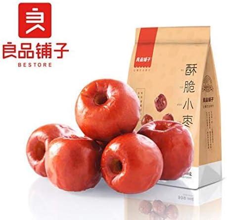 中国名物 おつまみ 大人気 良品铺子 酥脆小枣 红枣免洗 小枣干 特产小吃零食 100g