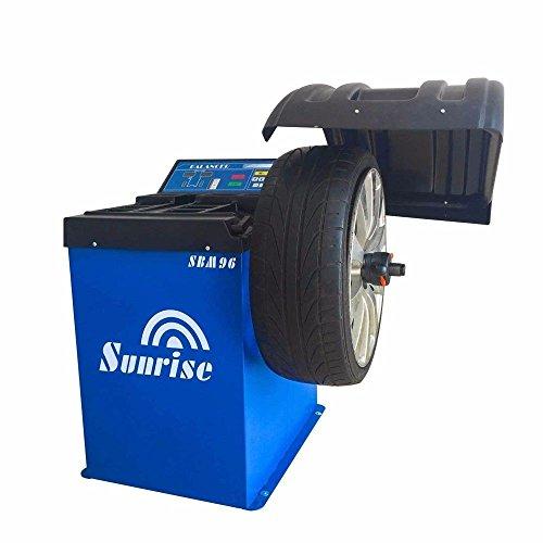 Sunrise SBM96 Wheel Balancer Tire Balancers Machine Rim Car Heavy Duty /12 Month Warranty