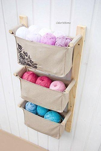 Amazon.com: Kids Room Organizer with Embroidery Design ...