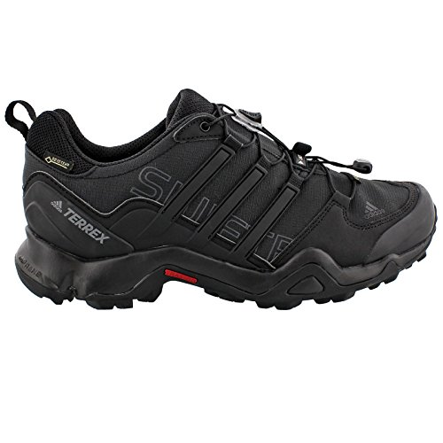 adidas outdoor Men's Terrex Swift R GTX Black/Black/Dark Grey Hiking Shoes - 10 D(M) US