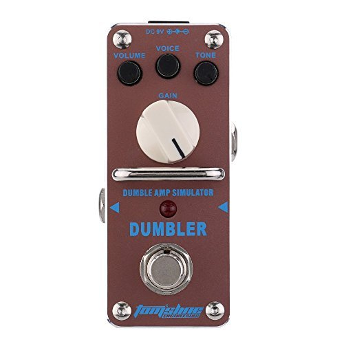 AROMA ADR-3 Dumbler Amp Simulator Mini Single Electric Guitar Effect Pedal with True Bypass