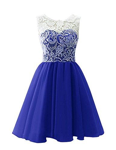 line Real Fiesta Jaeden De Corto Azul La Noche Tul Honor A Dama Mujer Vestido qnRaA