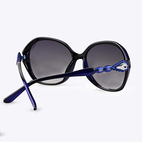 xin Cara Vendimia Gafas 1 Ultra Anti De luz Polarizada Luz Sol Hembra WX UV TR90 Gafas Redonda 1 Color dPnvdx