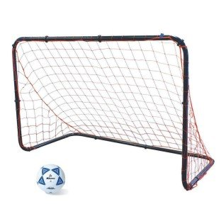 Portable Steel Soccer Goal, 6 ft x 4 ft by Park And Sun Sports