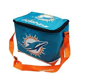 Miami Dolphins NFL 2014 Big Logo Zippered Lunch Bag-New Logo by Forever Collectibles