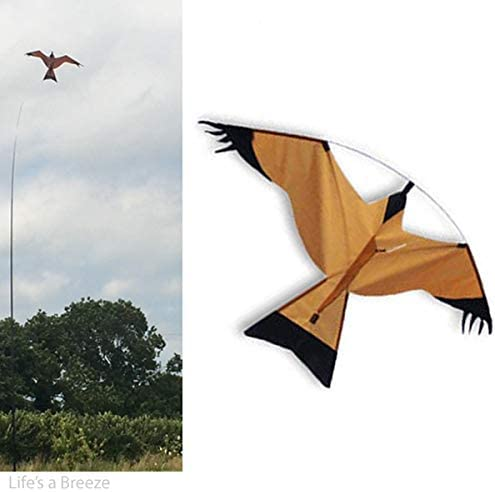 Hawk Kite Bird Scarer & 5mTelescopic Flag Pole. Free Line Rig
