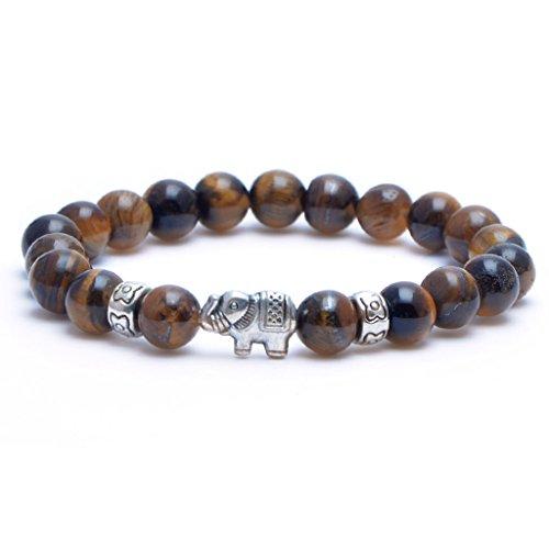 MIKINI Healing Gemstone Bracelet Elephant