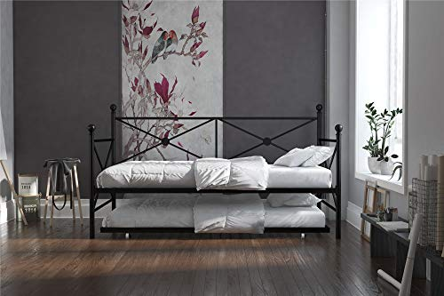 (DHP Daybed with Trundle, Twin, Black)