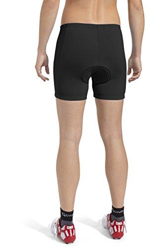 Donna Cosciali Nero Da Capri Ciclismo black Gonso 1txwp41
