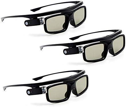 Docooler GL1800 - Juego de 3 Gafas 3D para proyector (DLP-Link ...