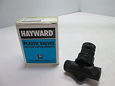 """Hayward NV40025T Needle Valve, 1/4""""NPT Ports, 150psi at 70°F from Hayward"""