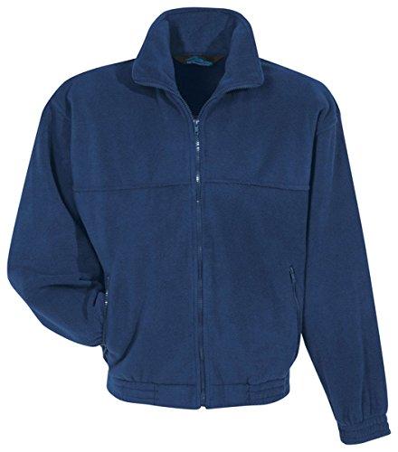 Tri-mountain Panda fleece jacket. 7600 - NAVY_2XLT