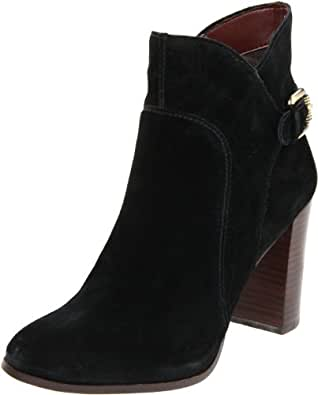 Sam Edelman Women's Loni Ankle Boot,Black Suede,9 M US