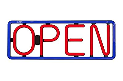 Led Open Signs Neon Styles Large Letter Display Vivid Bright Color Big Rectangular For Shop Store Bar Cafe Restaurant Beer Salon Business *97 Led