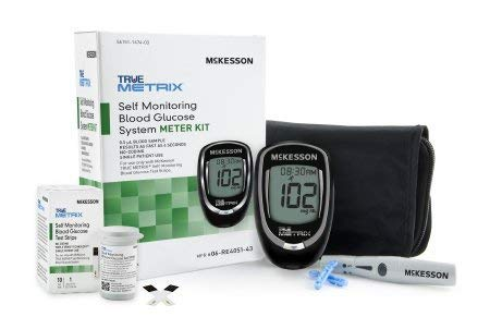 McKesson 06-RE4051-43 True Metrix Self Monitoring Blood Glucose System