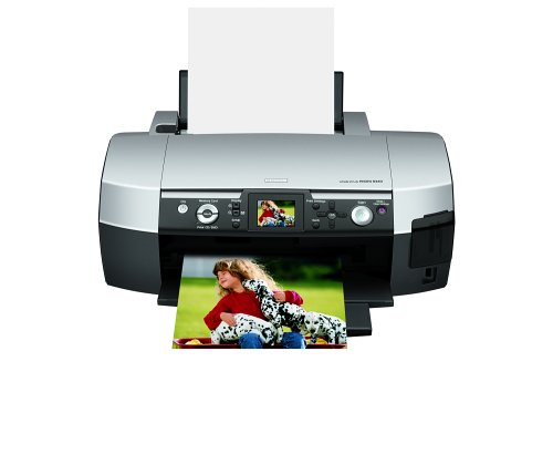 - Epson Stylus Photo R340 Inkjet Printer