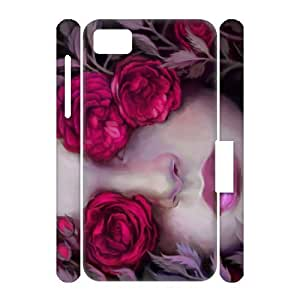 America's National Flower - Beautiful Grace Valentine's Day Rose In Your BlackBerry Z10 Cool BlackBerry 3D Case RZ11