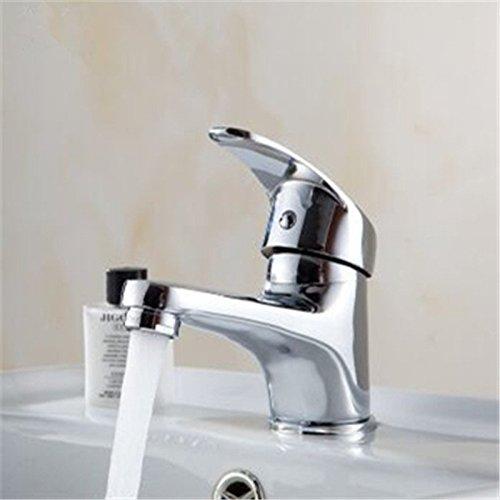 Gyps Faucet Waschtisch-Einhebelmischer Waschtisch-Einhebelmischer Waschtisch-Einhebelmischer Waschtischarmatur Badarmatur Moderne, Einfache Voll Kupfer mit Einem Waschbecken Wasserhahn Mischbatterie Standard,Mischbatterie Waschbecken 0deb80