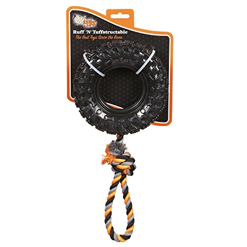 Grriggles Ruff 'N' Toughstructable Stick Tug Chew Toy Chew Tire