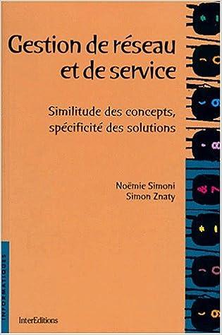 Livres Gratuits Amazon Gestion De Reseau Et De Service