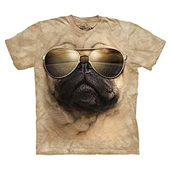The Mountain Beige Round Neck T-Shirt For Men