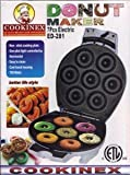 Home N Kitchenware Collection Electric Donut Maker, Mini Donut Maker, Non-stick Cooking Plate, Easy to Clean, 750 Watts