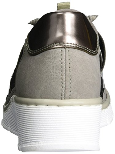 free shipping best place cheap extremely Rieker Women's 53763 Loafers Grey (Staub/Altsilber/Staub / 42) b4Yg5p2
