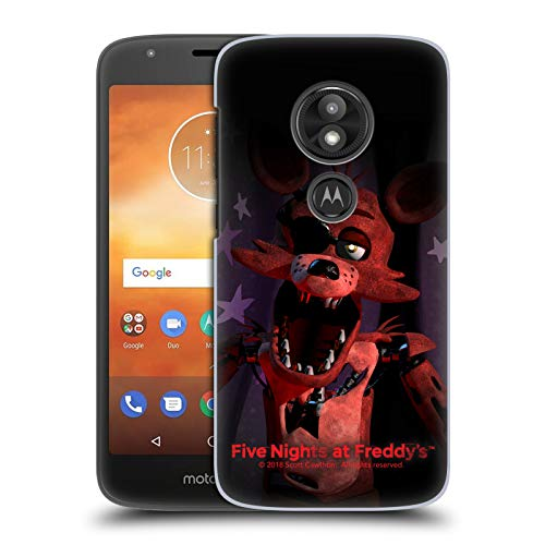 Official Five Nights at Freddy's Foxy Game 1 Hard Back Case Compatible for Motorola Moto E5 Play ()