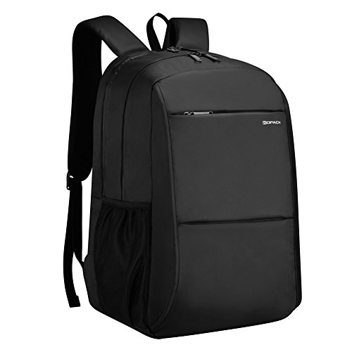 Waterproof Computer (kopack Waterproof Laptop Backpack College School 15.6Inch Water Proof Zipper Inch Hidden Back Slot/Usb Charging Port Black)