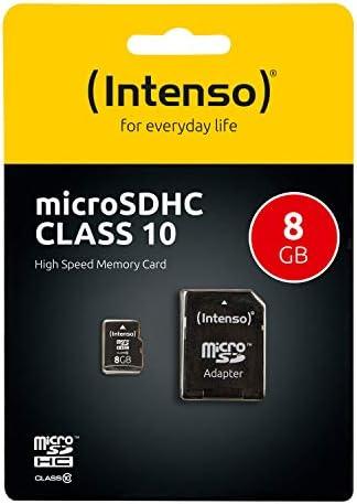 Intenso Micro Sdhc 8gb Class 10 Speicherkarte Inkl Computer Zubehör