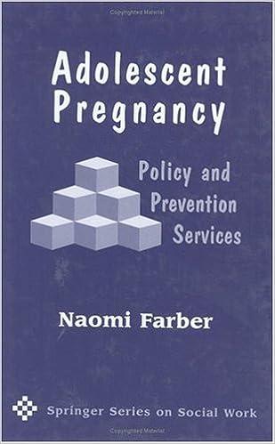 adolescent pregnancy farber naomi