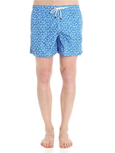 Fedeli Men's 1Ue00318b051214 Light Blue Polyester Trunks by Fedeli