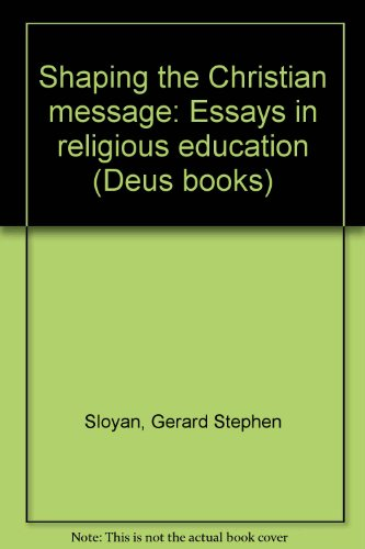 religious education essays Religion and education this essay religion and education and other 63,000+ term papers, college essay examples and free essays are available now on reviewessayscom.