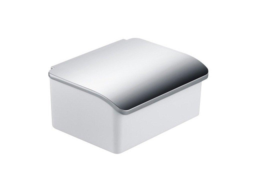 Keuco 11667013000 Elegance - Dispensador de toallitas húmedas (porcelana, cromado), color blanco: Amazon.es: Salud y cuidado personal
