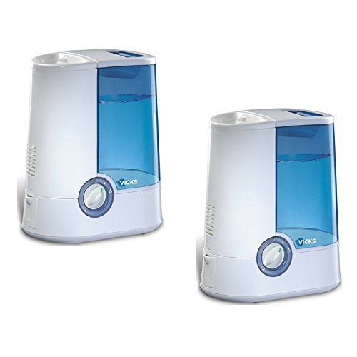 Vicks Warm Mist Humidifier 2 pack