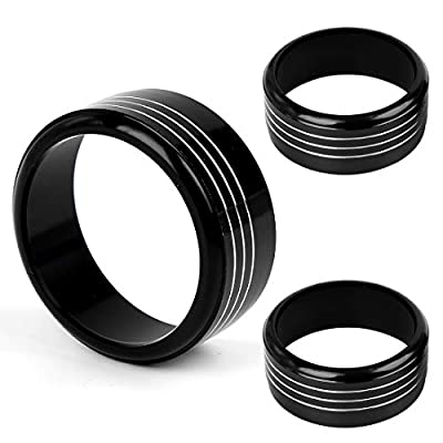 X AUTOHAUX 3 Pcs Black Aluminum Alloy Car Ac Climate Control Knob Ring Trim Cover for 2013-2020 Subaru Forester Xv Crosstrek WRX/sti Impreza: Automotive