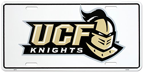 University of Central Florida Knights License Plate Tin Sign 6 x 12in - University Florida Seal