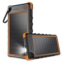 Cargador Solar con protección IP67 y bateria
