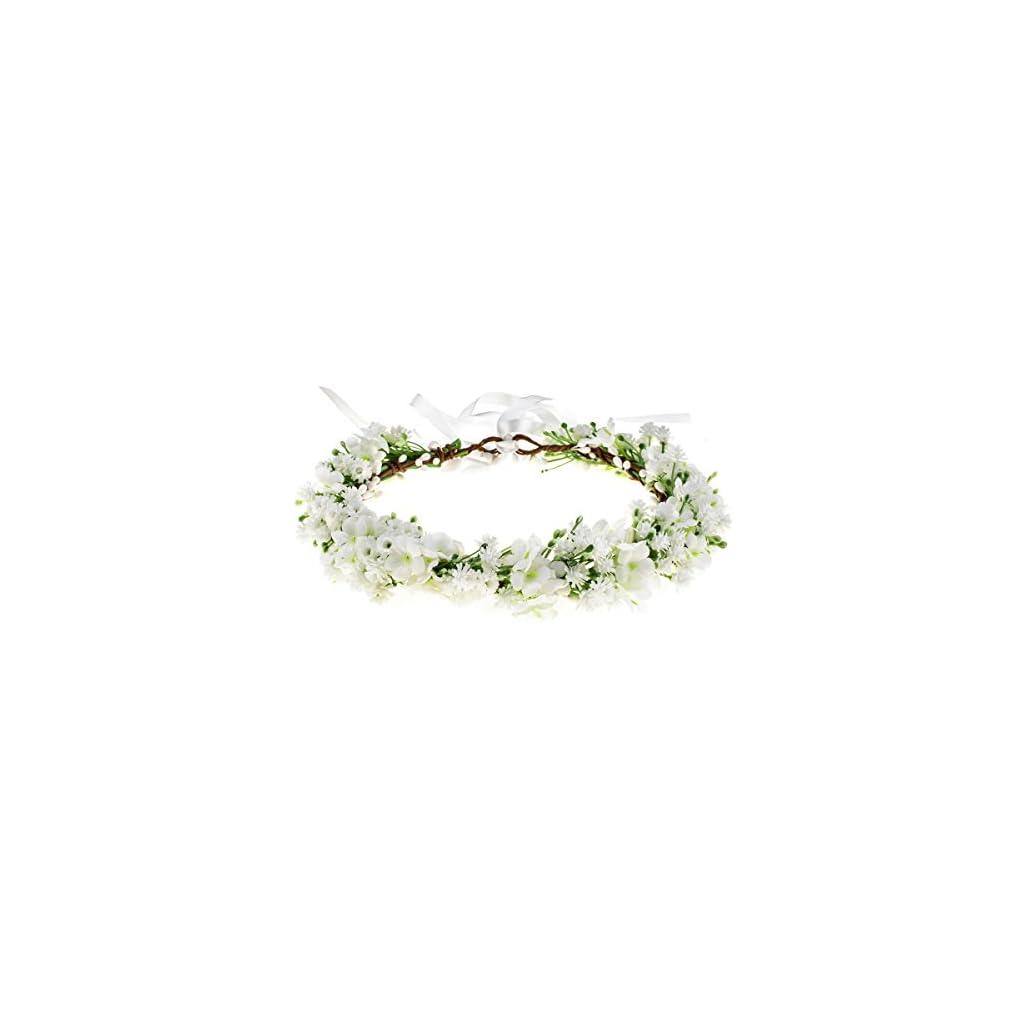 Floral-Fall-Artificial-Baby-Breath-Flower-Halo-Wedding-Crown-Lilac-Bridal-Headpiece-Greenery-Crown-HC-24